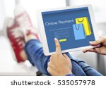 online store add to cart... | Shutterstock . vector #535057978