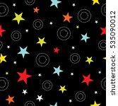 star pattern   Shutterstock .eps vector #535090012