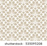 seamless abstract floral... | Shutterstock .eps vector #535095208