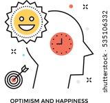 happiness vector icon | Shutterstock .eps vector #535106332