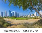 nature around dubai marina in... | Shutterstock . vector #535111972