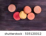 A Photo Of Macarons  Shot From...