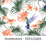 beautiful seamless vector... | Shutterstock .eps vector #535121602