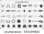 vintage vector design elements...