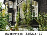 traditional wooden house in... | Shutterstock . vector #535216432
