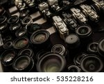 close up of many various photo... | Shutterstock . vector #535228216