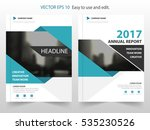 blue label vector annual report ... | Shutterstock .eps vector #535230526