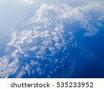 white clouds and blue sky for... | Shutterstock . vector #535233952
