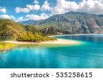 oludeniz is one of the most... | Shutterstock . vector #535258615