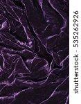 Luxurious Waves Of Dark Purple...