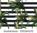 beautiful seamless vector... | Shutterstock .eps vector #535264192