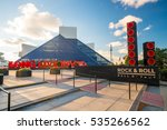 cleveland  oh   november 4  the ... | Shutterstock . vector #535266562