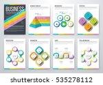 infographic vector set.... | Shutterstock .eps vector #535278112