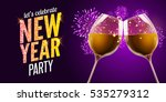 new year eve 2017. holiday... | Shutterstock .eps vector #535279312