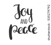 christmas wishes of joy and... | Shutterstock .eps vector #535279792
