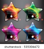 Abstract Vector Banner Set Of ...