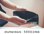 wallet empty when business... | Shutterstock . vector #535311466