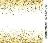 abstract pattern of random... | Shutterstock . vector #535324942