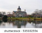 st. catherine's church  spring... | Shutterstock . vector #535332556