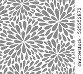 seamless vector pattern with... | Shutterstock .eps vector #535352872
