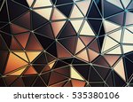 abstract 3d rendering of... | Shutterstock . vector #535380106