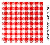 Red Picnic Checkered Cloth  ...