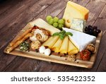 Cheese Platter With Different...