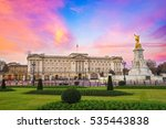 Buckingham Palace At Sunrise I...