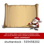 vector cartoon illustration of... | Shutterstock .eps vector #535458202