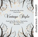 vintage background | Shutterstock .eps vector #53546809