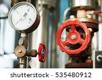 manometer pipes and valve in...