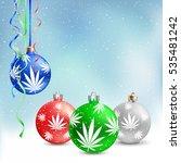 cannabis hemp marijuana... | Shutterstock .eps vector #535481242