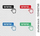 www  icon   vector icon   Shutterstock .eps vector #535483768