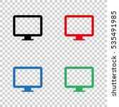 computer  display   vector icon
