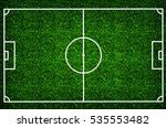 football field or soccer field... | Shutterstock . vector #535553482