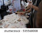 hong kong   10 dec  stanley... | Shutterstock . vector #535568008