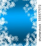 snowflake background | Shutterstock . vector #535577572