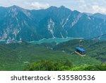 Panoramic View Of Kurobe Dam...