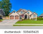 big custom made luxury house... | Shutterstock . vector #535605625