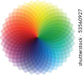Rainbow Swirl  Vector...