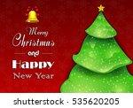 christmas tree background   Shutterstock .eps vector #535620205