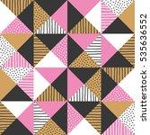 geometric background. vector...   Shutterstock .eps vector #535636552