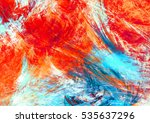 bright artistic splashes.... | Shutterstock . vector #535637296