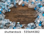 recycling concept. the problem... | Shutterstock . vector #535644382