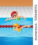 vector illustration of cartoon...   Shutterstock .eps vector #535648552