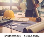 architect concept  architects... | Shutterstock . vector #535665082