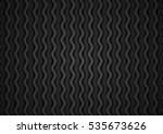 abstract black waves pattern... | Shutterstock .eps vector #535673626