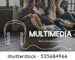 music lifestyle leisure... | Shutterstock . vector #535684966