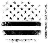 american flag background. black ... | Shutterstock . vector #535724926