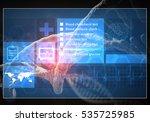 media medicine background image ... | Shutterstock . vector #535725985